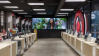 target retail store cashier check out area with new design